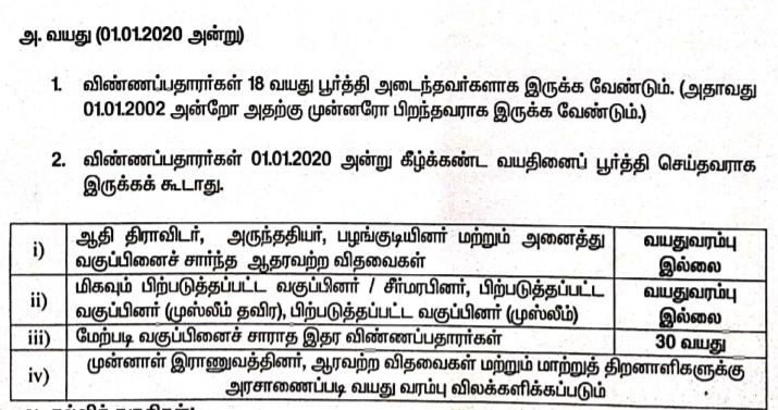 sivagangai district ration shop recruitment