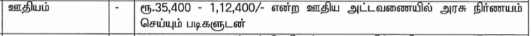 TNRD Dindigul Recruitment Salary