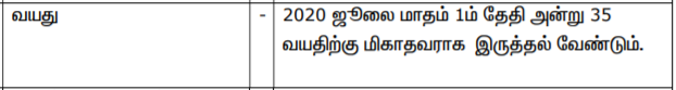 TNRD Salem Recruitment 2020 Inspiring 16 Overseer posts